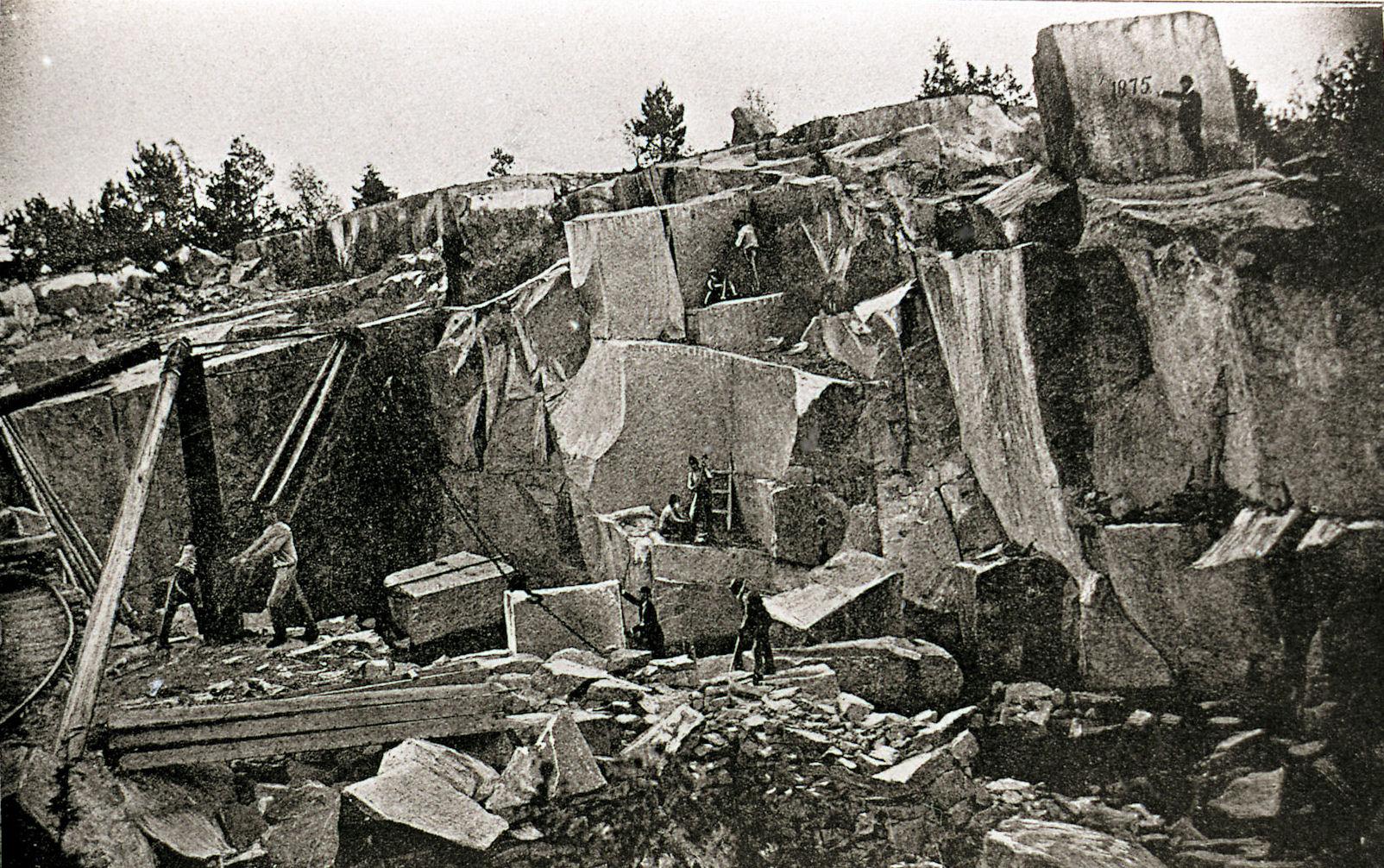 Älvehultsbrottet år 1875