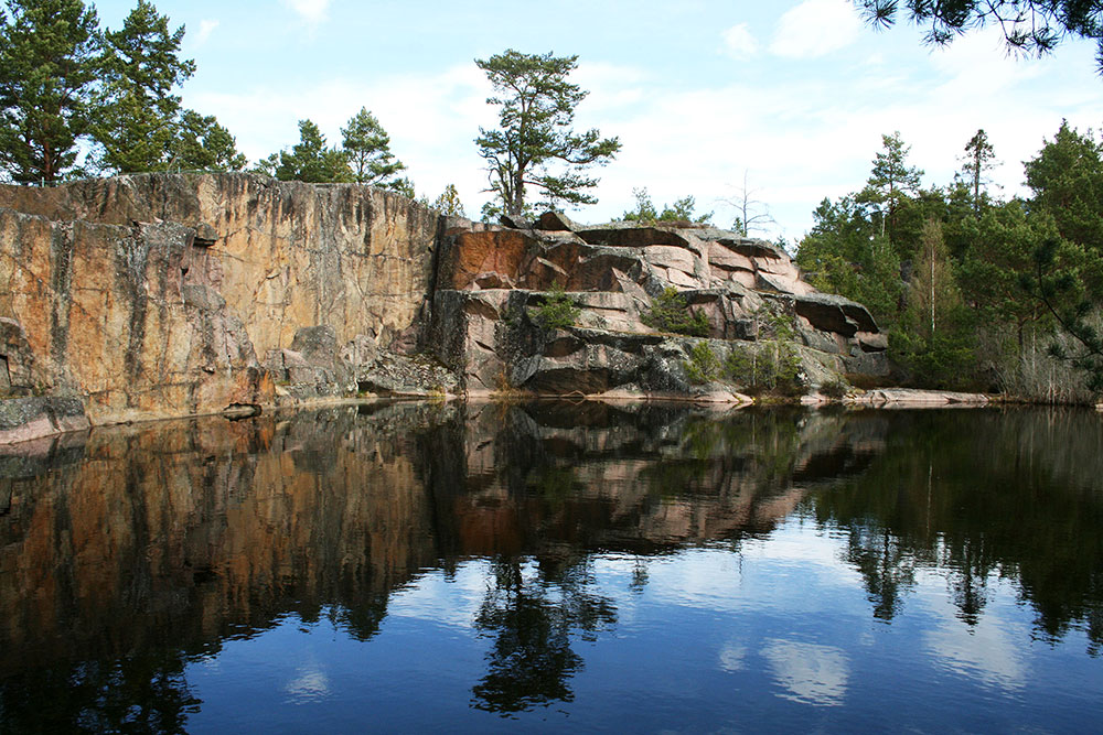 The quarry called Brödlösa